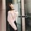 เสื้อเกาหลี แขนยาวไหมพรม พร้อมส่ง thumbnail 7