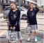 เดรสเกาหลี พร้อมส่ง Dress Hood แขนยาว thumbnail 3