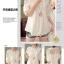 เสื้อเกาหลี พร้อมส่ง เสื้อคอกลม แขนตุ๊กตา thumbnail 4