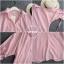 เสื้อเกาหลี พร้อมส่ง เสื้อ ลายริ้วตรง thumbnail 7