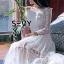 พร้อมส่ง Maxi dress เปิดไหล่แขนยาว thumbnail 4