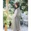 ชุดเดรสเกาหลี พร้อมส่ง Dress ลายสก็อต thumbnail 4