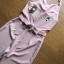 พร้อมส่ง จัมป์สูทผ้าเครปสีเบบี้พิงค์ทรงคล้องคอ thumbnail 12