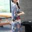 เดรสเกาหลี พร้อมส่ง เดรสแขนกุดมาพร้อมกับเดรสยาว thumbnail 6