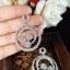 พร้อมส่ง Diamond Earring ต่างหูเพชร CZ แท้ thumbnail 5