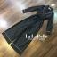 เสื้อผ้าเกาหลี พร้อมส่ง จั้มสูท กางเกงขาแปด ปกทรงสูท thumbnail 5