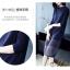 เดรสเกาหลี พร้อมส่ง Dress คอกลม แขนยาว ทรงตรง thumbnail 8