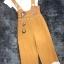 พร้อมส่ง Jumpsuit ปักลายน่ารัก มาพร้อมเสื้อขาว thumbnail 5