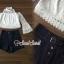 เสื้อผ้าเกาหลี พร้อมส่ง เสื้อลุกไม้กับกางเกง thumbnail 2