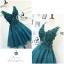 พร้อมส่ง Dress ลุคไฮโซเรียบหรู thumbnail 9