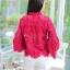 เสื้อเกาหลีลูกไม้คอกลม ผ้าชีฟอง พร้อมส่ง thumbnail 18