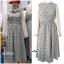 ชุดเดรสเกาหลี พร้อมส่ง Dress ลายสก็อต thumbnail 7