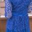 ชุดเดรสลูกไม้ พร้อมส่ง Maxi Dress ลูกไม้คอวี thumbnail 4