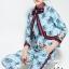 เสื้อผ้าเกาหลี พร้อมส่ง เสื้อกับกางเกง เชือกผูกเป็นโบตรงคอ thumbnail 5