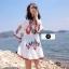 เดรสเกาหลี พร้อมส่ง Mini dress งานปักสไตล์โบฮีเมียน thumbnail 8