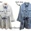 เดรสเกาหลี พร้อมส่ง Mini Dress ชุดมินิเดรสยีนส์ thumbnail 6