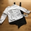 เดรสเกาหลี พร้อมส่ง เอี๊ยม เดรสผ้าเครปสีดำทับเสื้อคอตตอน thumbnail 19