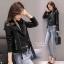 เสื้อเกาหลี ZARA Leather Jacket แจ็คเก็ตหนัง พร้อมส่ง thumbnail 6