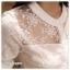 เสื้อเกาหลี พร้อมส่ง เสื้อ cotton ปักลายดอกไม้ thumbnail 7