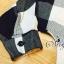 พร้อมส่ง เสื้อเกาหลี เสื้อคอวีแขนยาว ผ้าทอลายสก๊อต thumbnail 10