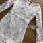 เดรสผ้าลูกไม้ พร้อมส่ง เดรสเกาหลี สีขาวสไตล์วินเทจ thumbnail 12
