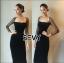 พร้อมส่ง Dress งานสวย ลุคเรียบหรูดูไฮโซ thumbnail 4