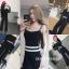 เสื้อผ้าเกาหลี พร้อมส่ง Set 3 ชิ้นสุดคุ้ม thumbnail 2