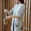 เสื้อเกาหลี พร้อมส่ง เสื้อคลุมลายChanel thumbnail 5