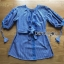 พร้อมส่ง เสื้อผ้าคอตตอนลายตารางปักลายดอกไม้ thumbnail 9