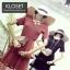 เดรสเกาหลี พร้อมส่ง Mini dress ระบายชีทู 3 ชั้น thumbnail 14