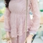 ชุดเดรสลูกไม้ พร้อมส่ง Lace Dress ทรงบาน thumbnail 13