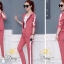 เสื้อผ้าเกาหลี พร้อมส่ง ชุดเซท เสื้อ+กางเกง มีฮูด thumbnail 10