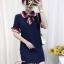พร้อมส่ง Mini Dress คอปก แขนสั้น thumbnail 13