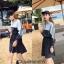 เดรสเกาหลี ผ้ายืด พร้อมส่ง thumbnail 6