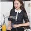 เดรสเกาหลี พร้อมส่ง เดรสผ้าคอตตอนลายสก็อต thumbnail 5