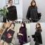เสื้อเกาหลี พร้อมส่ง เสื้อไหมพรมทอ เนื้อนุ่มนิ่ม thumbnail 3