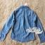 เสื้อเกาหลี เชิ๊ตยีนส์เดนิม พร้อมส่ง thumbnail 10