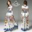 ชุดเดรสเกาหลี พร้อมส่ง เดรสผ้าชีฟอง เนื้อซิลล์ thumbnail 4