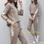 เสื้อผ้าเกาหลี พร้อมส่ง ชุดเซท เสื้อ+กางเกงขายาว thumbnail 2