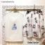 เสื้อผ้าเกาหลี พร้อมส่ง เสื้อกับกระโปรงทรงเอระบาย thumbnail 8