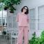 เสื้อผ้าเกาหลี พร้อมส่ง Set สุดชิค เสื้อ+กางเกง thumbnail 4