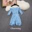 พร้อมส่ง จั้มสูทกางเกงขาสั้นงานผ้าลูกไม้ thumbnail 13