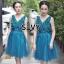 พร้อมส่ง Dress ลุคไฮโซเรียบหรู thumbnail 2