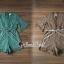 เสื้อผ้าเกาหลี พร้อมส่ง จั้มสูทกางเกงขาสั้นทรงสวย thumbnail 3