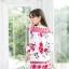 เสื้อผ้าเกาหลีพร้อมส่ง จั๊มสูทพิมพ์ลายเชิง thumbnail 8