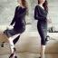 พร้อมส่ง long dress สีดำคอวีหน้าหลัง thumbnail 2