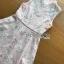พร้อมส่ง เดรสผ้าออร์แกนซ่าปักลายดอกเดซี่ thumbnail 9