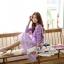 เสื้อเกาหลี พร้อมส่ง เสื้อไหมพรม+เดรสสายเดี่ยว thumbnail 5