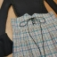 เสื้อผ้าเกาหลี พร้อมส่ง ชุดเซ็ทเสื้อ+เอี้ยมกระโปรง thumbnail 6