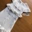 เดรสเกาหลี พร้อมส่ง เดรสยาว ผ้าคอตตอนปักและฉลุลาย thumbnail 11